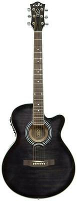 Chord 174.416 CMJ4CE Full Gloss Body Finish Cutaway Electro Aacoustic Guitar