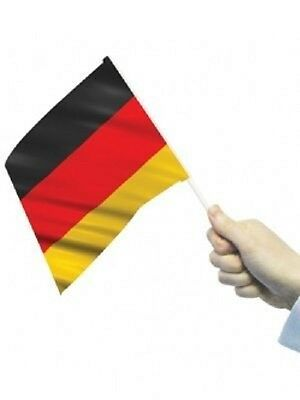 "GERMANY HAND WAVING FLAG Small 9""X6"" GERMAN Berlin munich Bonn Pack of 24"
