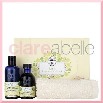 Neal's Yard Baby Organic Collection Gift Box - RRP £25.00 - FREE Postage