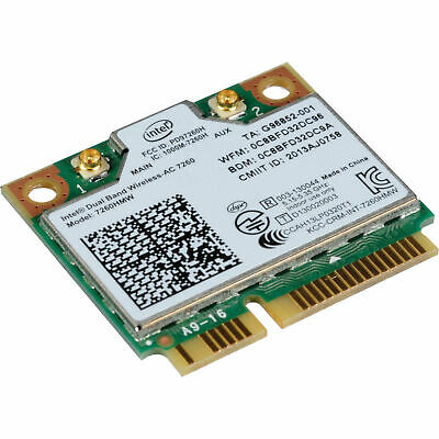 Genuine Intel 7260 ac Dual Band 867Mbps Wireless+Bluetooth 4.0 MINI PCIE Card