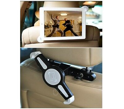 """360°Rotatif Universel Appui-tête Support Voiture Pour iPad 1 2 7-10"""" Samsung Tab"""
