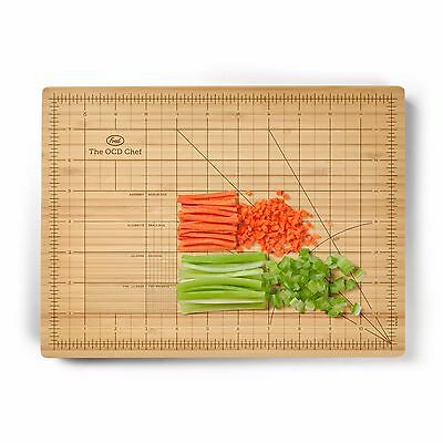 Fred The Obsessive Chef Chopping Board Sustainable Bamboo Cutting Board GIFT