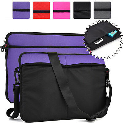 Universal 2-in-1 13 13.3 Inch Laptop Sleeve and Shoulder Bag Case NDR2-2