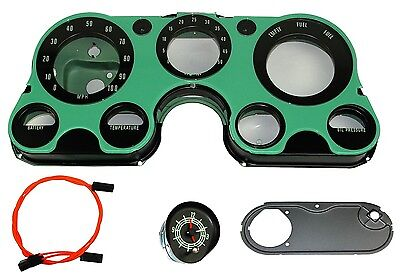 1967 1968 1969 1970 1971 1972 Chevrolet Truck Clock Conversion Kit 5K Tach Lens