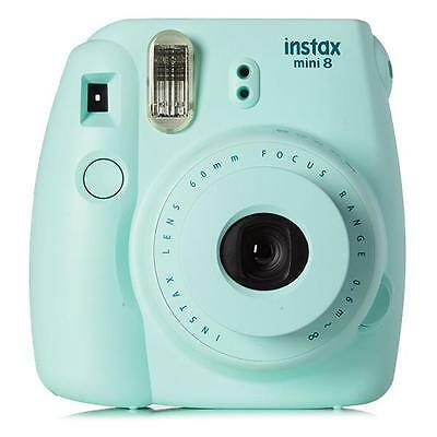 Fujifilm Instax Mini 8 Instant Camera with 10 Exposure Film - Mint **Limited**