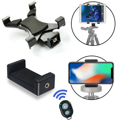 Universal Tablet Mount, Smartphone Mount, Bluetooth Remote for iPads & iPhones