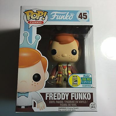 Funko SDCC 2016 Fundays Exclusive FREDDY DR. WHO # 45  LE 333  fourth doctor