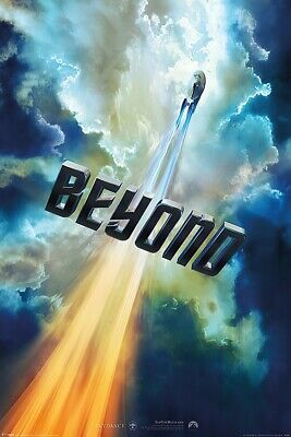 "STAR TREK BEYOND - MOVIE POSTER / PRINT (TEASER STYLE / CLOUDS) (SIZE 24 x 36"")"