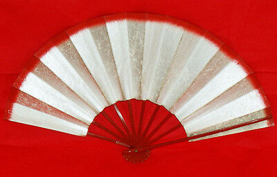 "Kyoto Mai-ogi (fan for Japanese traditional dance) ""Red line,Silver background"""