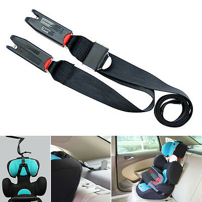 New Kids Car Seat isofix/latch Safety Fixed Belt Chest Strap Clip Snug Sit