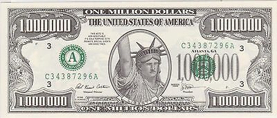 (WU-64) 2010 USA 1 million dollar promotion note ((not legal tender))