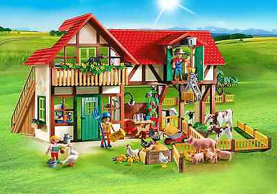 Playmobil 6120 Country Life Large Farm Made in Germany Role Play New 2016