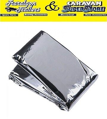 Survival Blanket 200 x 137 cm Protection against excessive heat or cold K365C
