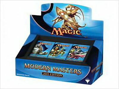 BOX 24 Buste MODERN MASTERS 2015 ENG Nuovo Mtg Magic Sealed Booster MM2