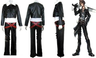Final Fantasy VIII Squall Halloween Cosplay Costume