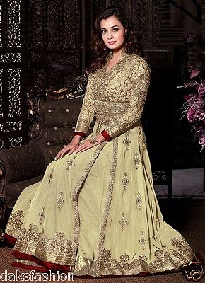 Bridal Long Indian Designer Pakistani   Anarkali Dress  Party Wear Wedding