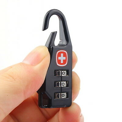 Alloy Cross Combination Lock Code Number for Luggage Bag Drawer Cabinet WL