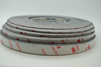 GENUINE 3M 9448HKB EXTREMLY STRONG DOUBLE SIDED TAPE, 1~10MM x 50M,  FOR MOBILE