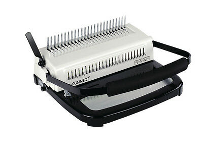 Q Connect Binding Machine 450 Sheet Capacity Heavy Duty Office Comb Binder