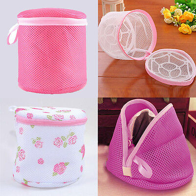 Zipped Wash Bag Laundry Washing Net Mesh Lingerie Underwear Bra Clothes Socks