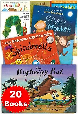 Julia Donaldson and Other Children Stories 20 Book Collection Kids Gift Set Pack
