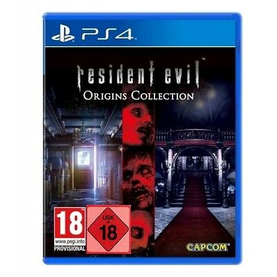 PS4 Spiel Resident Evil Origins Collection mit Resident Evil + Resi Zero NEU