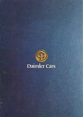 Daimler Cars Brochure 1978 - Daimler Double Six/Daimler Sovereign 4.2