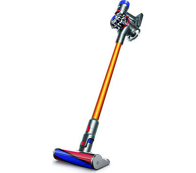 Dyson V8 Absolute Cordless Bagless Vacuum Cleaner 21.6V 0.54 L Nickel & Iron