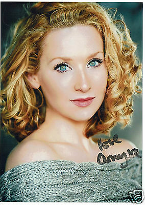 Amy Beth Hayes Actress Mt Selfridge Hand Signed Photograph 8 x 5