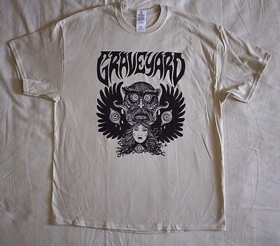"Graveyard official T-shirt ""Monstertryck"" sand NEW (XL,XXL)"