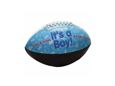 It's A Boy or It's A Girl Birth Announcement Football ~ Baby Shower Gift!