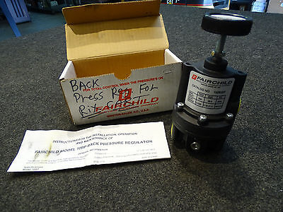 Fairchild Model 10BP Back Pressure Regulator 10283BP