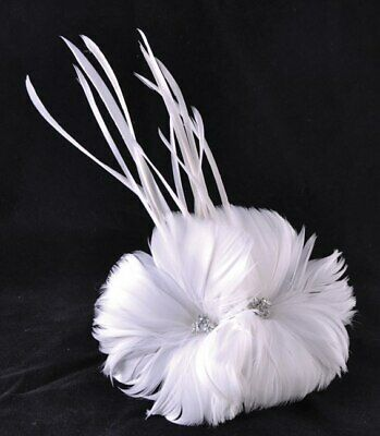 Feather Accent Piece - Argentina Collection - White