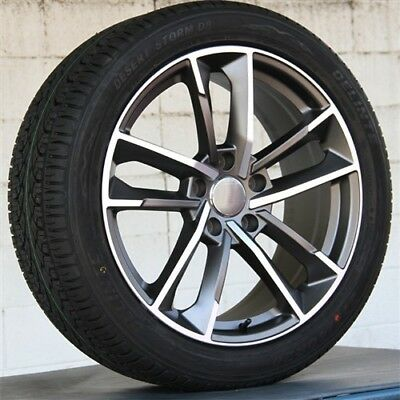 """Set(4) 20"""" 20x9 5X112 +25 WHEELS & TIRES PACKAGE AUDI A8 A5 A7 RS4 RS6 RS7 SQ5"""