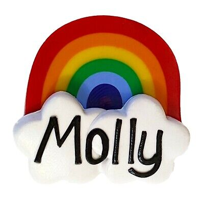 Rainbow Name Badge - Personalised with your name