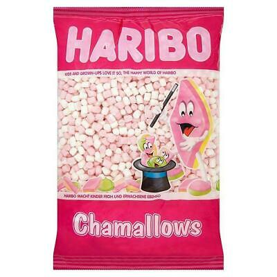 Mini Mallows Marshmallows, 1kg, Retro Sweets Pink And White