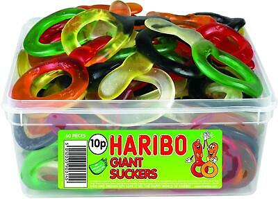 Haribo Jelly Sweets - 60 Giant Suckers