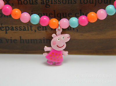 NEW  Peppa Pig girls  Accessories  Set Necklace and  Bracelet, high quality