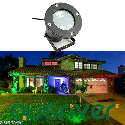 New Waterproof Outdoor Christmas Lights Garden Lawn Laser Projector Moving Light