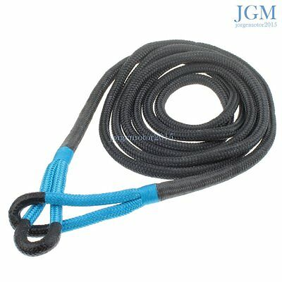 "PREMIUM! SNATCH 20' X 3/4"" KINETIC RECOVERY ROPE TOW STRAP 19,000 Lbs BLUE EYE"
