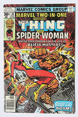 Marvel Two-In-One 30 - 2nd app. Spider-Woman - Marvel Comics