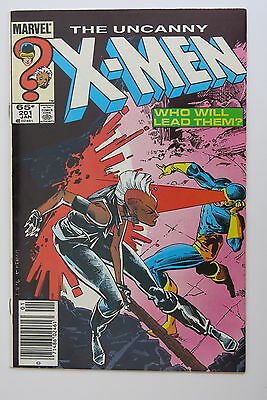 The Uncanny X-Men 201 - 1st app. Cable (baby) - Marvel Comics