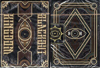 Blackout Kingdom Side Tuck Box Deck Liberty Playing Cards Poker Limited Edition