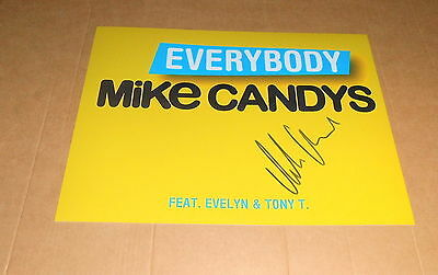Mike Candys *One Night in Ibiza*, original signiertes Foto 20x27 cm