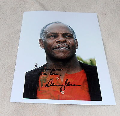 Danny Glover, *Leathal Weapon*, original signed Photo 20x25 cm (8x10)