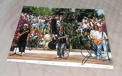 Smokie *Living Next Door to Alice*, original signiertes Foto in 20x27 cm