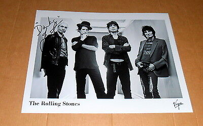 Charlie Watts *The Rolling Stones* original signed Photo in 20x25 cm (8x10 Inch)