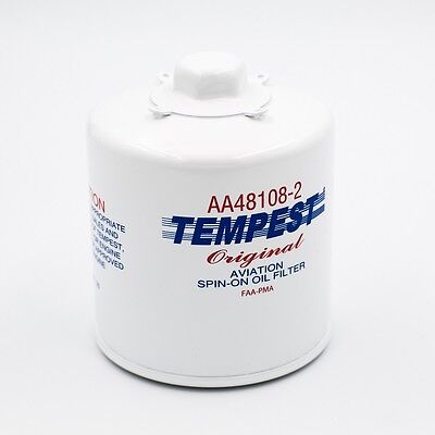 Tempest AA48108-2 spin on oil filter