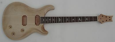Unfinished electric guitar body and neck : 2 parts new #04