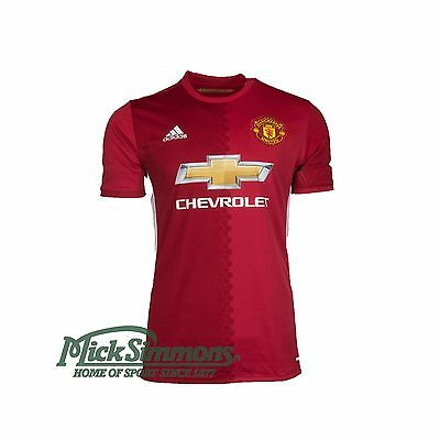 NEW Manchester United 2016/17 Men's Home Jersey by adidas